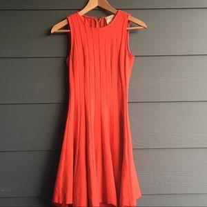 Kate Spade ♠️ Pleated Ponte Dress